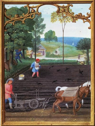 Book Of Hours, C1515--Giclee Print