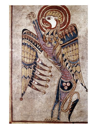 Book Of Kells: Saint Mark--Giclee Print