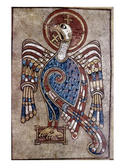 Book Of Kells: St John--Giclee Print
