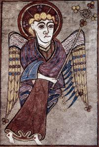 Book Of Kells: St. Matthew