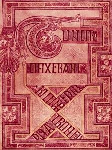 Book of Kells: T Letters