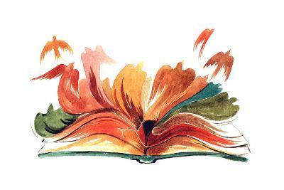 Book-okalinichenko-Art Print