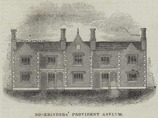 Bookbinders' Provident Asylum--Giclee Print