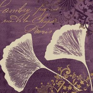 Lavender Ginkgo by Booker Morey
