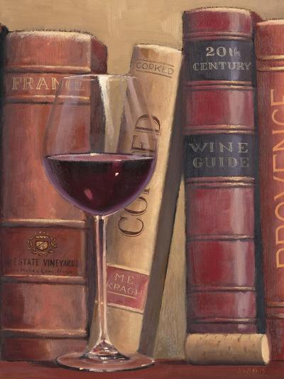 Books of Wine-James Wiens-Art Print