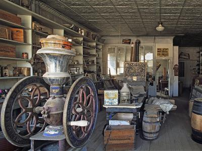 Boone's General Store in the Abandoned Mining Town of Bodie, Bodie State Historic Park, California-Dennis Flaherty-Photographic Print