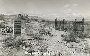 Boot Hill Cemetery, Tombstone, Arizona