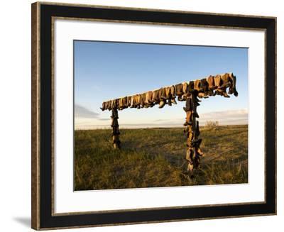Boot Rack-Mark Newman-Framed Photographic Print