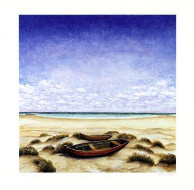 Boote Am Meer-Folkert Rasch-Limited Edition