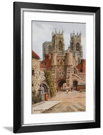 Bootham Bar and Minster, York-Alfred Robert Quinton-Framed Giclee Print