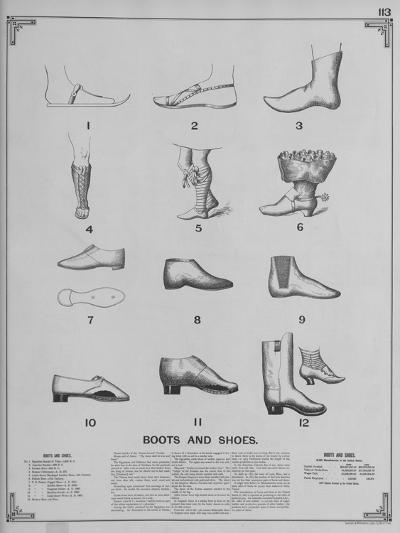 Boots and Shoes--Giclee Print