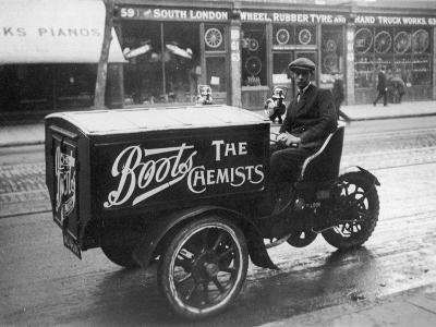 Boots Delivery Van--Photographic Print
