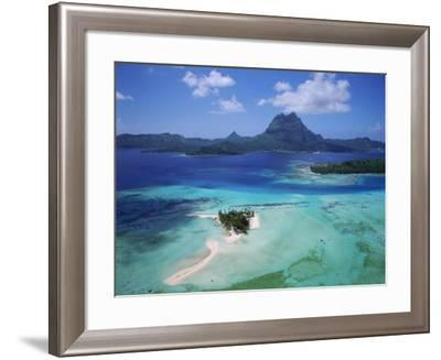 Bora Bora, French Polynesia-Douglas Peebles-Framed Photographic Print