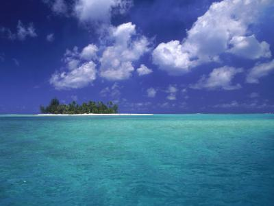 Bora Bora Lagoon, Pacific Islands-Mitch Diamond-Photographic Print