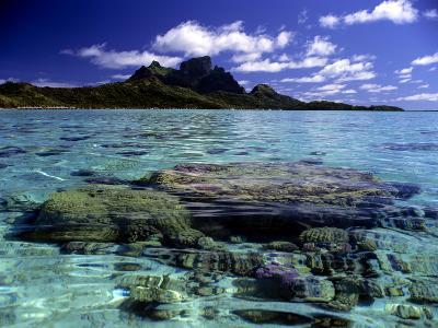 Bora Bora Lagoon-Ron Whitby Photography-Photographic Print