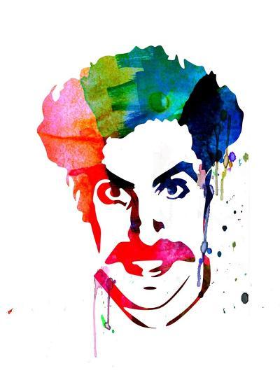 Borat Watercolor-Lora Feldman-Art Print
