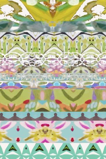 Border Boho I-Karen  Fields-Art Print