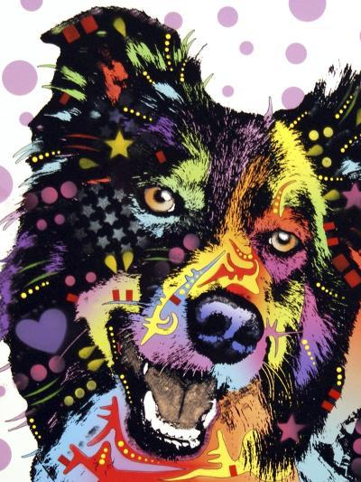 Border Collie-Dean Russo-Giclee Print