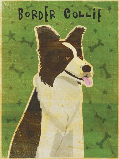 Border Collie-John W Golden-Giclee Print