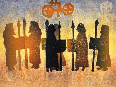 Border Picts, 2000-Gloria Wallington-Giclee Print