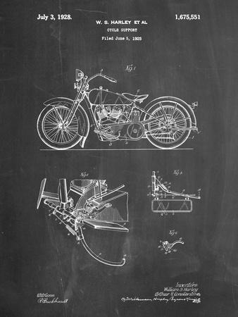 Favor Cycles /& Motos 1927 Vintage Bicycle /& Motorcycle Poster 24x36