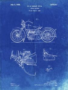 PP10 Faded Blueprint by Borders Cole