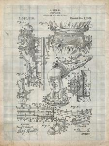 PP32 Antique Grid Parchment by Borders Cole