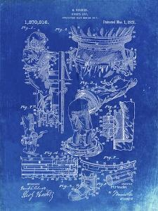 PP32 Faded Blueprint by Borders Cole