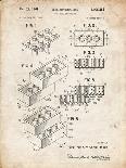 PP46 Vintage Parchment-Borders Cole-Giclee Print