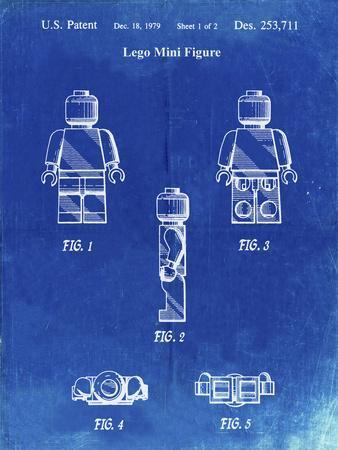 PP41 Faded Blueprint
