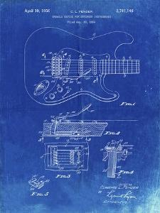 PP46 Faded Blueprint by Borders Cole