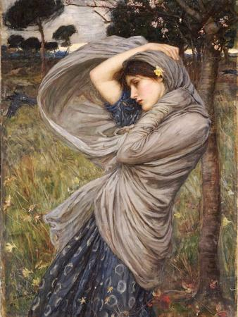 Boreas, 1903-John William Waterhouse-Premium Giclee Print