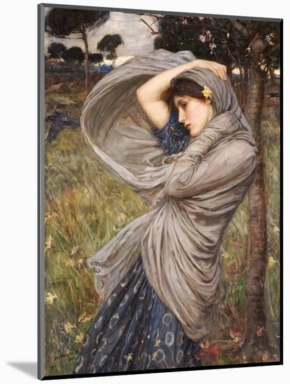 Boreas-John William Waterhouse-Mounted Premium Giclee Print