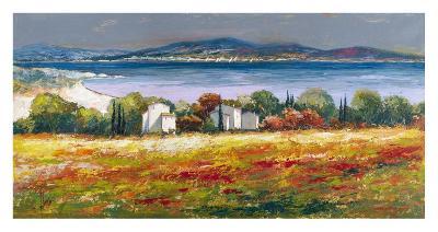 Borgo mediterraneo-Luigi Florio-Art Print