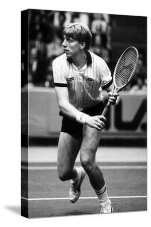 Boris Becker During a Match