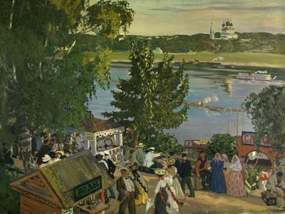 Promenade Along the Volga, 1909