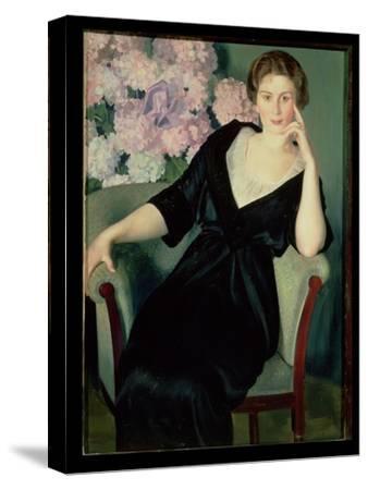 Portrait of Rene Ivanovna Notgaft (B.1880) 1914