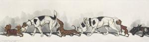 Dirty Dogs Of Paris II by Boris O'Klein