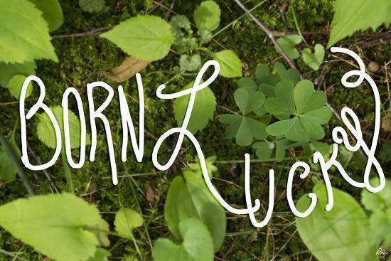 Born Lucky-Kimberly Glover-Giclee Print