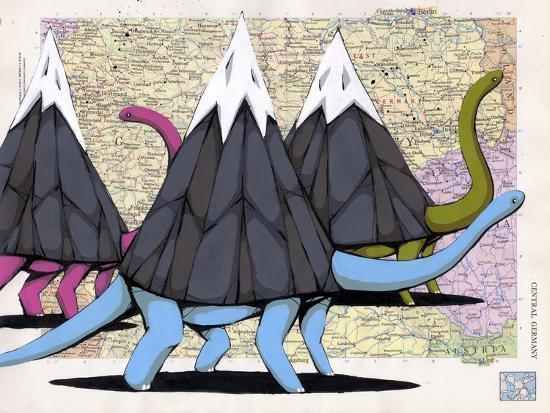 Born To Move Mountains-Ric Stultz-Giclee Print