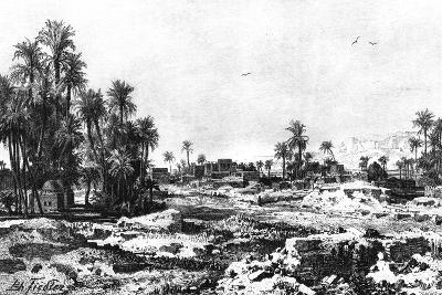 Borough of Karnak, Egypt, 1881-G Heuer-Giclee Print