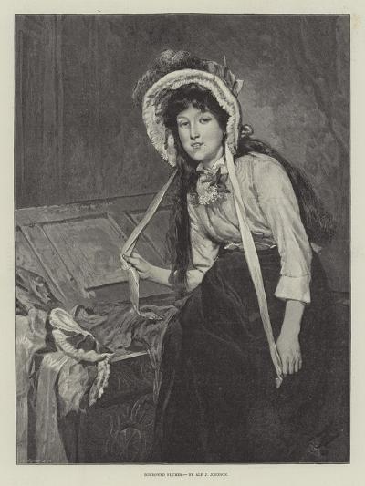 Borrowed Plumes--Giclee Print