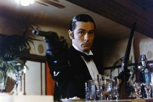 Borsalino and Co by Jacques Deray with Alain Delon, 1974 (photo)