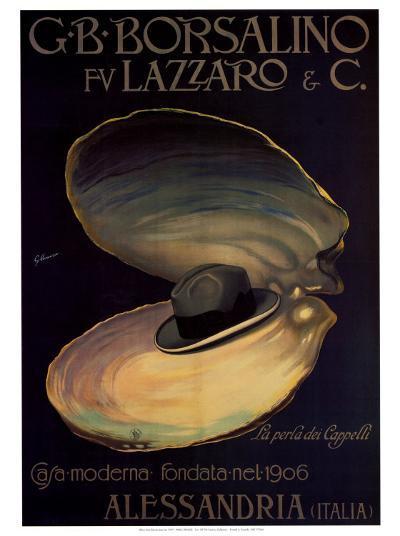 Borsalino-G^ Minonzio-Art Print