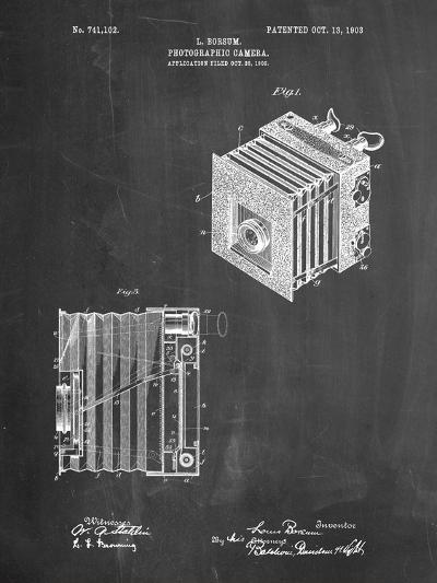 Borsum Camera Co Reflex Camera Patent-Cole Borders-Art Print
