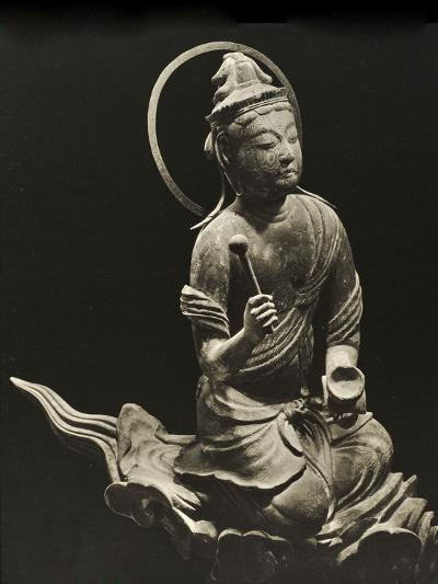 Bosatsu Playing Musical Instrument, from the 11th Century, Late Heian Period, Byodo-In, Kyoto, 1950--Photographic Print