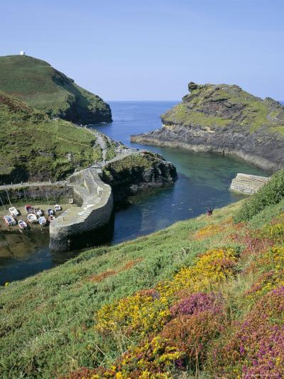 Boscastle Harbour, Boscastle, Cornwall, England, United Kingdom-Roy Rainford-Photographic Print