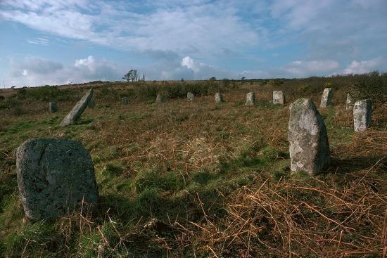 Boscawen-Un Stone Circle-Unknown-Photographic Print
