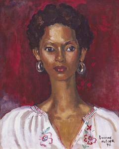 Embroidered Blouse by Boscoe Holder