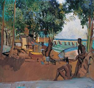 L'anse Mitan by Boscoe Holder